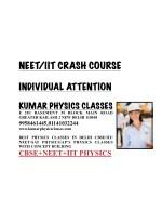 neet iit crash course 9