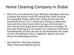 home cleaning company in dubai