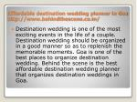 affordable destination wedding planner in goa http www behindthescene co in 1