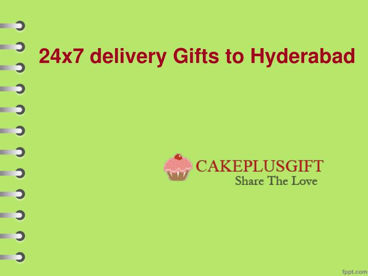 24x7 delivery gifts to hyderabad n.