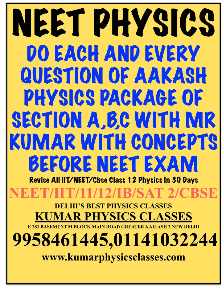 neet physics do each and every question of aakash n.