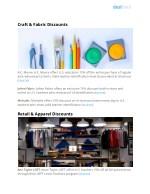 craft fabric discounts