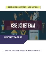 best guide for paper 1 ugc net 2018