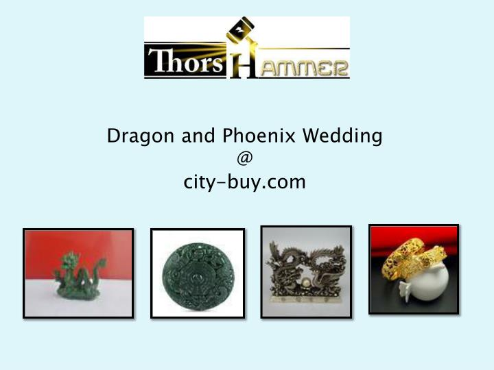 dragon and phoenix wedding @ city buy com n.