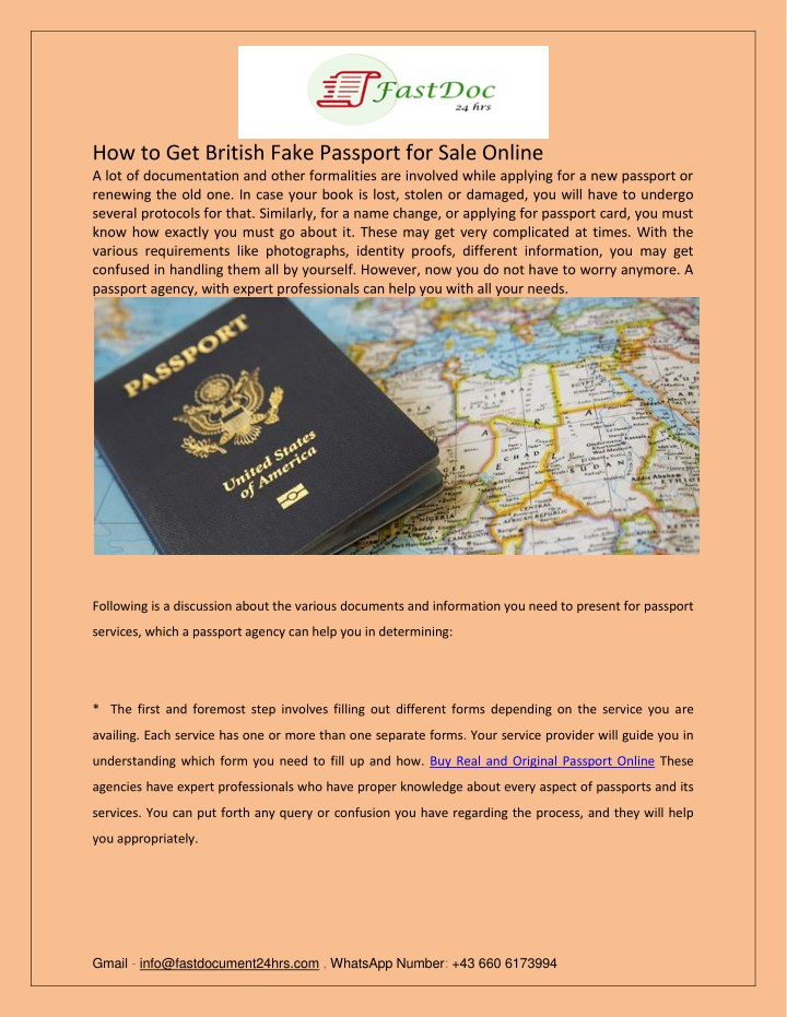 how to get british fake passport for sale online n.