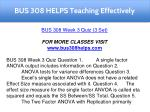 bus 308 helps teaching effectively 12