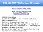 bus 308 mentor teaching effectively 8