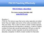 fin 515 teaching effectively 13