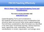 fin 515 teaching effectively 23