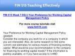 fin 515 teaching effectively 41