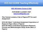 hcs 465 guide teaching effectively