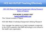 hcs 465 outlet teaching effectively 12