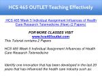 hcs 465 outlet teaching effectively 18