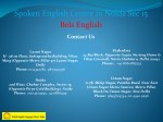 spoken english centre in noida sec 15 bels english 3