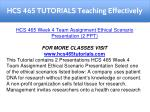 hcs 465 tutorials teaching effectively 18