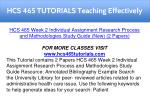 hcs 465 tutorials teaching effectively 9