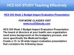 hcs 550 study teaching effectively 5