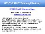 hcs 550 study teaching effectively 7