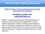 hrm 531 help teaching effectively 16
