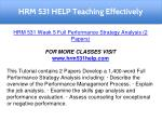 hrm 531 help teaching effectively 19