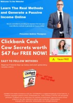 clickbank cash cow secrets worth 47 for free now