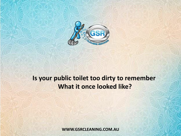 is your public toilet too dirty to remember what n.