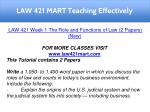 law 421 mart teaching effectively 5