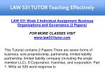 law 531 tutor teaching effectively 14