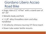 giordano libero acciao road bike 1