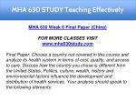 mha 630 study teaching effectively 15