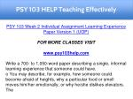 psy 103 help teaching effectively 2