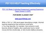 psy 103 help teaching effectively 4