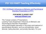 psy 103 mart teaching effectively 11