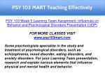 psy 103 mart teaching effectively 12