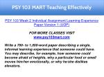 psy 103 mart teaching effectively 2