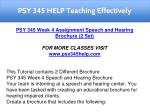 psy 345 help teaching effectively 6