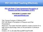psy 345 help teaching effectively 9