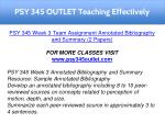 psy 345 outlet teaching effectively 5
