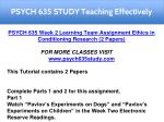 psych 635 study teaching effectively 4