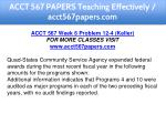 acct 567 papers teaching effectively 13