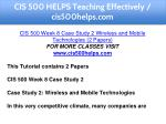 cis 500 helps teaching effectively cis500helps com 13