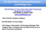 cis 500 helps teaching effectively cis500helps com 17