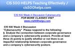 cis 500 helps teaching effectively cis500helps com 8