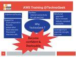 aws training @technogeek