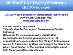 cis 500 study teaching effectively cis500study com 14