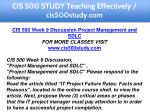 cis 500 study teaching effectively cis500study com 15