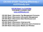 cis 500 study teaching effectively cis500study com 3