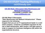 cis 500 study teaching effectively cis500study com 6