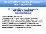 cis 500 study teaching effectively cis500study com 8