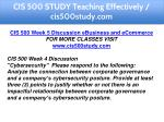 cis 500 study teaching effectively cis500study com 9